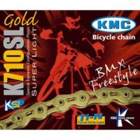 KMC K710-SL Kool Gold BMX Chain with 100 Links Chains