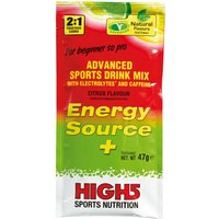 High5 Energy Source Plus Box Of 12x 47g Sachets   Energy & Recovery Drink