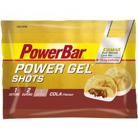 PowerBar PowerGel Shots - Cola with Caffeine- 16 x 60g Energy & Recovery Food