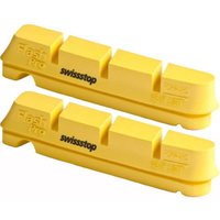 Swissstop Flash Pro Yellow Carbon Rim Brake Pads Rim Brake Pads