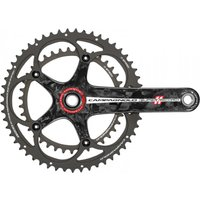 Campagnolo Super Record 11 Speed Double Ti/Carbon Chainset Chainsets