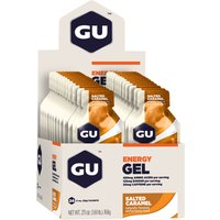 GU Energy Gels With Caffeine - (24 x 32g) Energy & Recovery Gels