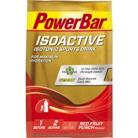 PowerBar Isoactive Drink Mix Sachets - 20 x 33g Energy & Recovery Drink