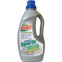 Halo Proactive Sports Wash Laundry Detergent - (1 Litre) Fabric Cleaner