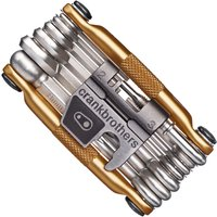 Crank Brothers 19 Function Multi Tool (Gold) Multi Tools