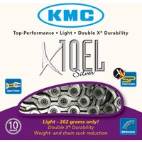 KMC X10-EL Silver 10 Speed Chain Chains