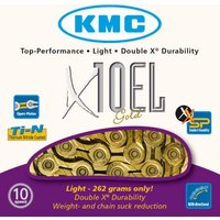 KMC X10-EL Gold 10 Speed Chain Chains