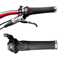 SRAM XX Grip Shift Set (2x10) with Lock-On Grips Gear Levers & Shifters