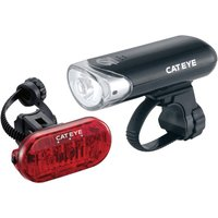 Cateye EL130/TL135 Front and Rear Light Set Light Sets