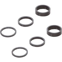 LifeLine Carbon Headset Spacer Kit, 6 Pack Headsets
