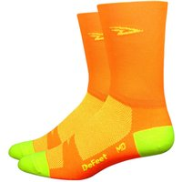 DeFeet Aireator Tall Hi-Vis Socks Cycling Socks