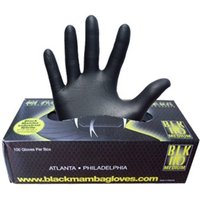 Black Mamba Nitrile Workshop Gloves - 100 Pack Workshop Tools