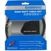 Shimano Road Gear Cable Set with Polymer Coated Inners Gear Cables
