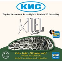 KMC X11-EL 11 Speed Chain (Silver) Chains