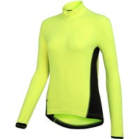 Wiggle Essentials Womens Long Sleeve Thermal Cycle Jersey Long Sleeve Cycling Jerseys