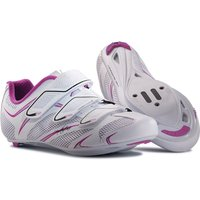 Northwave Womens Starlight 3S Road Shoes (White/Purple) Road Shoes