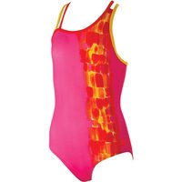 Zoggs Girls Sunset Splash Crossback (SS16) Childrens Swimwear