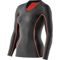 SKINS Womens Pacer A200 Top Long Sleeve Compression Base Layers