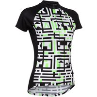 Primal Womens A-Maze-Ing Short Sleeve Jersey Short Sleeve Cycling Jerseys