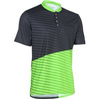 Primal Boundary Henley Jersey Short Sleeve Cycling Jerseys