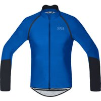 Gore Bike Wear Power Windstopper Softshell Zip-Off Jersey Long Sleeve Cycling Jerseys