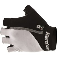 Santini Gel Mania Summer Mitts Short Finger Gloves