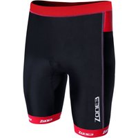 Zone3 Mens Lava Long Distance Shorts Tri Shorts