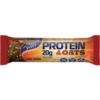 For Goodness Shakes Protein & Oats Flapjack (12 x 75g)   Bars