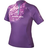 Endura Womens SingleTrack II Jersey Short Sleeve Cycling Jerseys