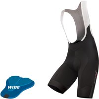 Endura Pro SL Bib Shorts (Wide Pad) Lycra Cycling Shorts