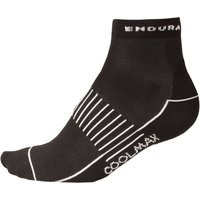Endura Womens Coolmax Race Socks (3 Pack) Cycling Socks