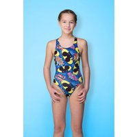 Maru Girls Bandit Pacer Rave Back (AW16) Childrens Swimwear