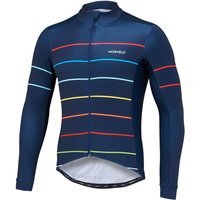 Morvelo Nauty Thermoactive Long Sleeve Jersey Long Sleeve Cycling Jerseys