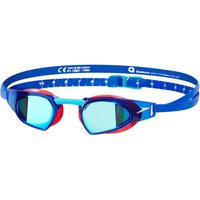 Speedo Speedo Fastskin Prime Mirror Goggle (Red/Blue) Adult Swimming Goggles