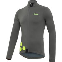 Isadore Thermerino Long Sleeve Jersey Black Long Sleeve Cycling Jerseys