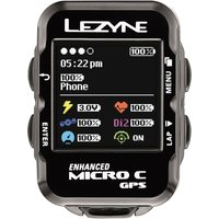 Lezyne Micro Colour Cycle GPS with Mapping GPS Cycle Computers