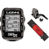Lezyne Micro Cycle GPS with Mapping HRSC Loaded GPS Cycle Computers