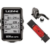 Lezyne Super Cycle GPS with Mapping HRCS Loaded GPS Cycle Computers