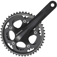 Shimano 105 CX50 Double 10sp Chainset Black Chainsets