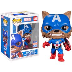 capwolf / marvel / figurine funko pop / exclusive sdcc 2021