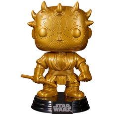 darth maul gold metallic / star wars / figurine funko pop / exclusive special edition