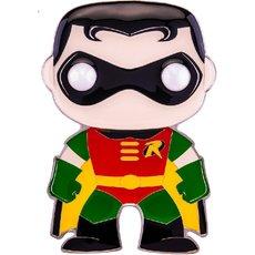 robin / super heroes / funko pop pin
