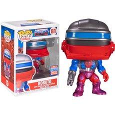 roboto / les maitres de l'univers / figurine funko pop / exclusive sdcc 2021