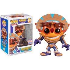crash bandicoot in mask armor / crash bandicoot / figurine funko pop / exclusive sdcc 2021