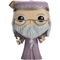 albus dumbledore avec baguette / harry potter / figurine funko pop