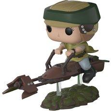 princesse leia avec speeder / star wars / figurine funko pop