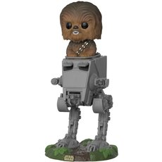 chewbacca avec at-st / star wars / figurine funko pop