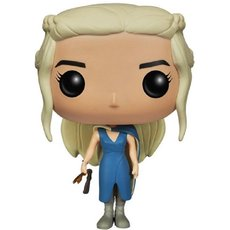 daenerys targaryen en robe bleu / game of thrones / figurine funko pop