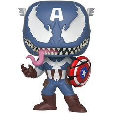 venomized captain america / venom / figurine funko pop