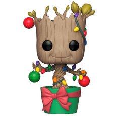 holiday groot / les gardiens de la galaxie / figurine funko pop